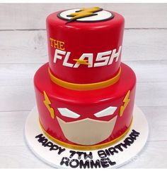 If you are looking for the best ideas for Flash Theme Party, read on to show you here the flash decoration for children's party, such as decorating a main Flash Superhero, Superhero Cake, Superhero Birthday Party, Bolo Flash, Flash Cake, Flash Birthday Cake, Sons Birthday, Birthday Ideas, 10th Birthday Parties