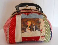 Today the best day Creative Bag, Frame Purse, Art Bag, Sewing Rooms, Handmade Bags, Bag Accessories, Purses And Bags, Sewing Projects, Sewing Patterns