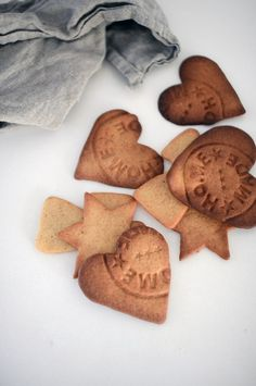* Postmark cookies -- very clever. (basic sugar cookie with Lavender or crushed Chai for flavor?)