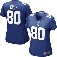 a02695dfa Women's Nike New York Giants #80 Victor Cruz Limited Team Color Blue Jersey  Nfl Jerseys