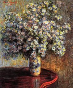 Asters by Claude Oscar Monet