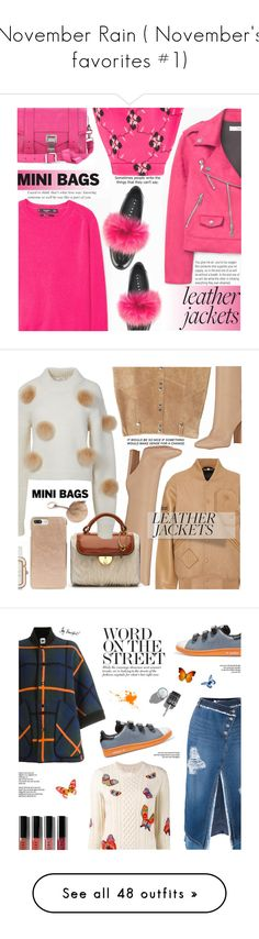 """""""November Rain ( November's favorites #1)"""" by anarita11 ❤ liked on Polyvore featuring MANGO, Joshua's, Proenza Schouler, TIBI, Opening Ceremony, Gianvito Rossi, Maison Margiela, Marc by Marc Jacobs, Kate Spade and M Missoni"""