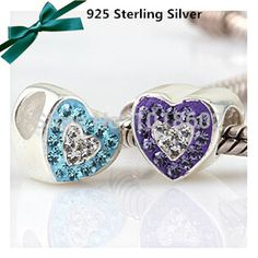 Authentic 925 Sterling Silver Bead Charm Cute Pave Peace Dove With Crystal Pendant Bead Fit Pandora Bracelet Diy Jewelry Numerous In Variety Jewelry & Accessories Beads