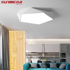 Cheap Ceiling Lights, Buy Directly from China Suppliers:Dimmable LED Ceiling Lamps Design Creative Geometry luminaria Living Room Aisle balcony lampe plafond chambre Ceiling Lighting