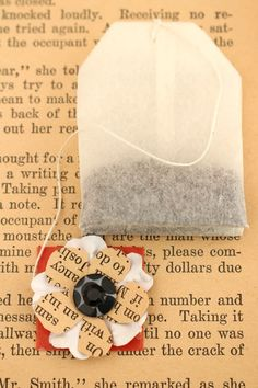 Embellished Tea Bags – Mother's Day Gift http://mysoulfulhome.com/embellished-tea-bags-mothers-day-gift/ via bHome https://bhome.us