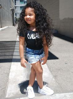style, baby, and kids image Cute Mixed Babies, Cute Black Babies, Black Baby Girls, Beautiful Black Babies, Cute Baby Girl, Cute Little Girls, Cute Kids Fashion, Cute Outfits For Kids, Little Girl Fashion