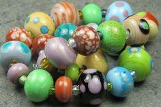 Into the Fire Lampwork Art Beads ~Gypsy~ Artist handmade glass beads SRA