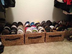 Flip flop storage
