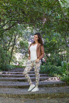 Look de primavera com tendência - blusa lace up (blusa com amarração)!