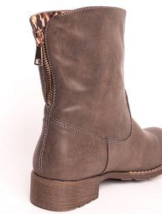 "Ghete ""Dark Heart Inertia"" Grey. Pret 64.90 lei. Cowboy Boots, Riding Boots, Biker, Dark, Grey, Casual, Shoes, Fashion, Horse Riding Boots"