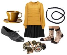 Fashion Inspired by the Hogwarts Houses –  Hufflepuff Date