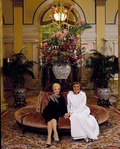"operaqueen: "" Mary Martin and Carol Channing. Willard Hotel, Washington Dc Hotels, Carol Channing, Mary Martin, Tv Actors, Bridesmaid Dresses, Wedding Dresses, Classic Tv, Movie Stars"