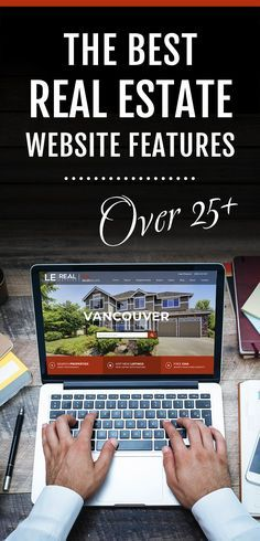 The best real estate website marketing features that get results. In this article, you'll discover over 25 of the best real estate website features that sets apart the best from the average REALTOR® website. From social media marketing to blog posts, professional real estate website design to advanced IDX solution. Use all the features your site has to offer in order to gain new leads and advance your real estate marketing ideas.