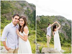 Summer Engagement Session at Grandfather Mountain   North Carolina   Hope Taylor Photography