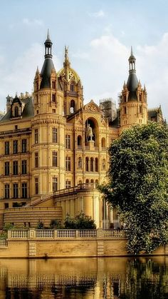"gentlemansessentials: "" Castle in Schwerin, Germany Gentleman's Essentials """