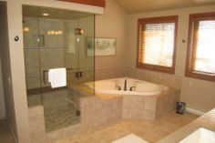 Bathroom Renovation by Hoganwerks Interior Renovations of Snowmass, Colorado Shower and Tub