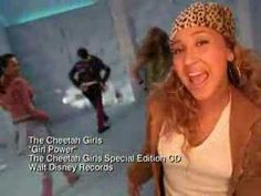 Cheetah Girls- Girl Power One of their songs from the first movie. Disney Nerd, Disney Music, Mom Characters, Old Disney Movies, Girl Power Songs, The Cheetah Girls, Protest Songs, Raven Symone, 2000s Fashion Trends