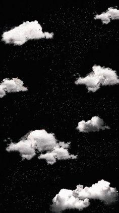 Retro Wallpaper Iphone, Phone Wallpaper Images, Aesthetic Desktop Wallpaper, Cute Patterns Wallpaper, Iphone Background Wallpaper, Night Sky Wallpaper, Cloud Wallpaper, Wallpaper Space, Black Wallpaper