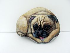 Etsy listing at https://www.etsy.com/listing/173282247/custom-pet-portrait-on-a-stone-5-6-in