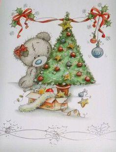 Merry Christmas name to Fb friends/family Tatty Teddy, Christmas Snowman, Christmas Time, Vintage Christmas, Merry Christmas, Teddy Bear Cartoon, Cute Teddy Bears, Teddy Beer, Teddy Bear Pictures