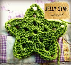 Crochet star tutorial Here you go @Jeniece Wiessner you can alternate trees and stars!