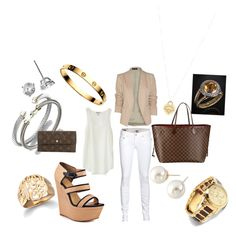 """""""Another Cute Outfit"""" Cartier & Louis Vuitton on Polyvore"""