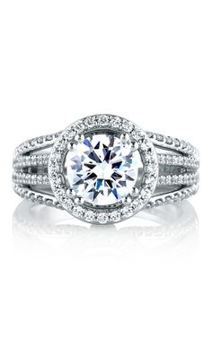 Shop A. Jaffe MES268-289 Engagement rings   Bailey Banks & Biddle