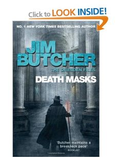 Death Masks: The Dresden Files Book Five: Amazon.co.uk: Jim Butcher: Books