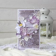 FANTASY: Нежная свадебная открытка Mixed Media Cards, Decorated Envelopes, Shabby Chic Cards, Friendship Cards, Beautiful Handmade Cards, Congratulations Card, Card Tags, Flower Cards, Greeting Cards Handmade
