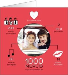 remerciements mariage infographiejpg - Remerciement Mariage Personne Absente