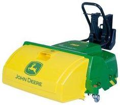 Rolly Toys 409716 RollyTrac John Deere Sweeper
