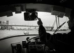 In de boot