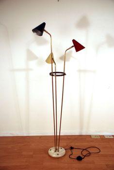 Triennale Floor Lamp Italy Mid Century Modern Eames