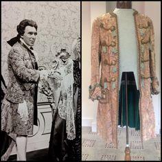 Duke of Montague - Julian Orchard costume