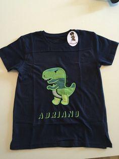 T-shirt con ricami Applique, by Ideamo, 15,00 € su misshobby.com