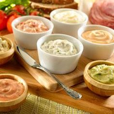 Easiest Ever Sandwich Spread Recipes Make the most of the great taste of Hellmann's Mayonnaise by using it in a wide variety of recipes from traditional favorites to the latest creations. By simply adding just 2 or 3 ingredients to Hellmann's Mayonnaise y Deli Sandwiches, Sandwich Sauces, Delicious Sandwiches, Sandwich Recipes, Chorizo, Conagra Foods, Mousse, Dips, Sandwich Spread
