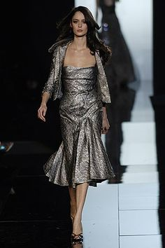 Elie Saab Fall 2005 Couture Fashion Show - Nicole Trunfio