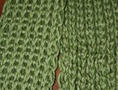 Authentic Knitting board - anniversary scarf