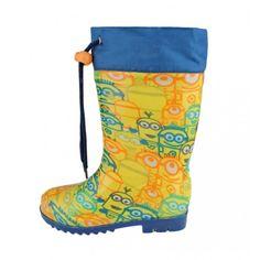 Γαλότσες παιδικές MINIONS Minions Despicable Me, Rubber Rain Boots, Shoes, Disney, Fashion, Minion Stuff, Waterproof Boots, Moda, Zapatos