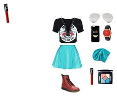 """""""Cool Color"""" by estherbc on Polyvore featuring Dr. Martens, Sunny Rebel, Converse, Gucci and Christian Dior"""