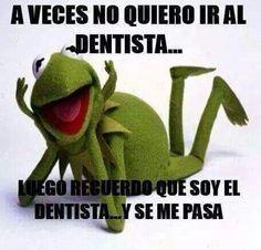 A veces no quiero ir al dentista