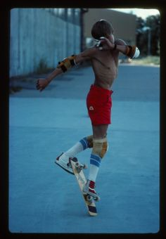 """Rodney Mullen - I've had the great fortune to see him skate in person.  Amazing - and he actually apologized for not """"skating well"""" that day!"""