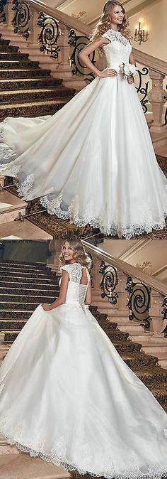 Wedding Dresses: New White/Ivory Wedding Dress Bridal Gown Custom Size 6-8-10-12-14-16 18++++ BUY IT NOW ONLY: $159.0