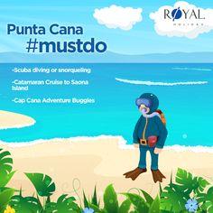#MustDo  #PuntaCana #royalholiday