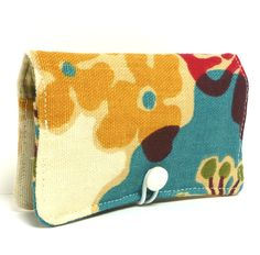 Fabric Business Gift Credit Card Holder by ChellaBellaDesigns, $8.00