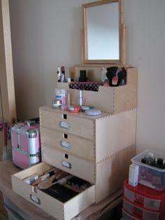 Makeup storage, Makeup and Storage ideas on Pinterest