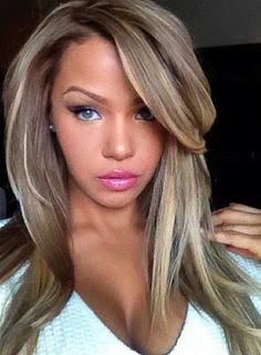 ash blonde hair with mahogany streaks - Google Search