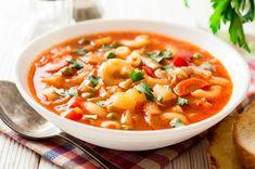 Soup Recipes, Healthy Recipes, Pasta Shapes, Green Cabbage, Catio, Fresh Herbs, Cheeseburger Chowder, Parmesan