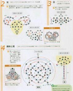 Crystal Rat - Beaded Jewelry Patterns 串珠十二生肖:鼠