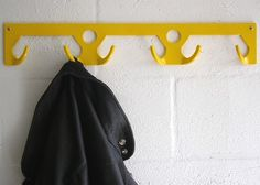 Wauli Coat Rack Six Place Yellow-pc